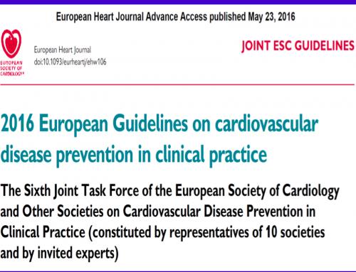 Linee Guida ESC sulla Prevenzione Cardiovascolare nella pratica clinica
