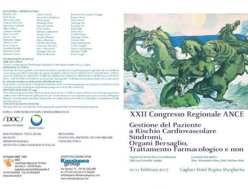 XXII  Congresso Regionale ANCE Sardegna