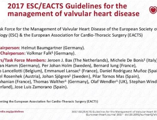 Linee Guida ESC per il trattamento delle valvulopatie