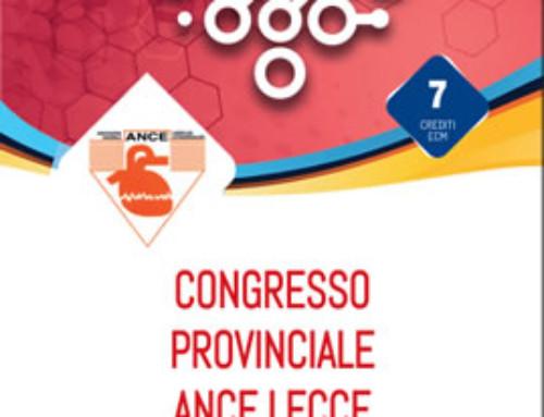 Evento: Congresso Provinciale ANCE Lecce del 15 Giugno 2019.